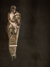 Tony Mori Frau mit Baby 2021